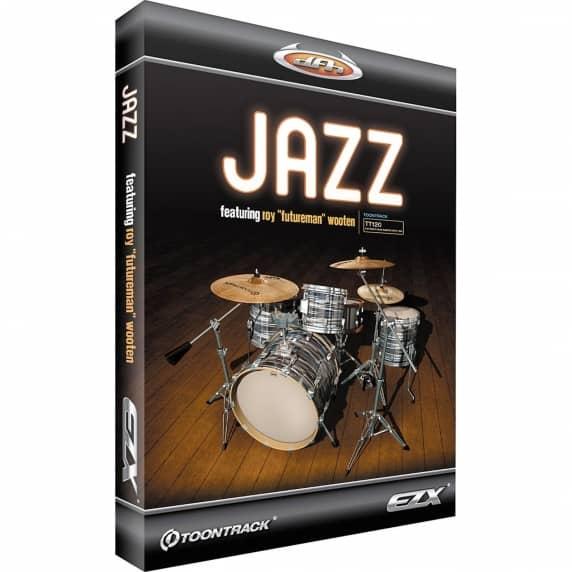 Toontrack EZX Jazz - EZ Drummer Expansion (Serial Download)