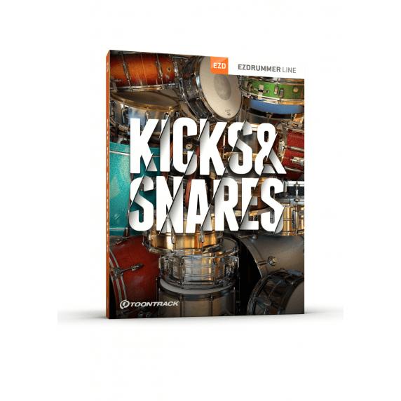 Toontrack EZX Kicks & Snares - EZ Drummer Expansion (Serial Download)