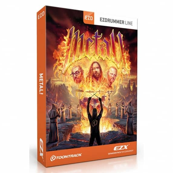 Toontrack EZX Metal EZ Drummer Expansion Pack (Serial Download)