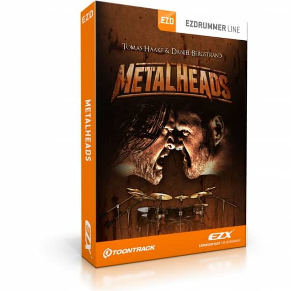 Toontrack EZX - Metal Heads EDUCATION (Serial Download)