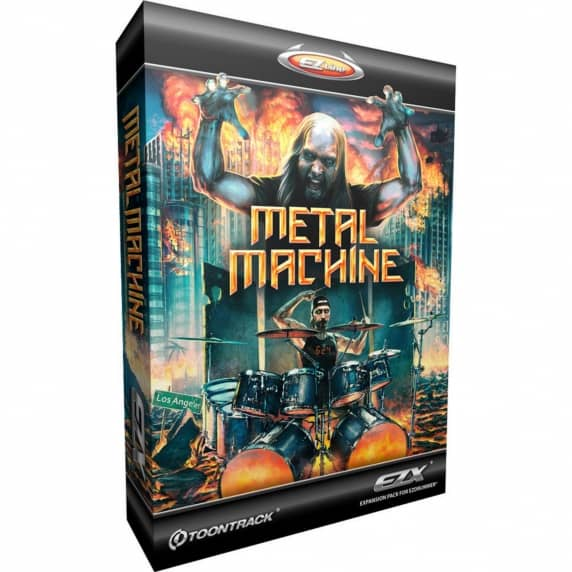Toontrack EZX - Metal Machine EDUCATION (Serial Download)