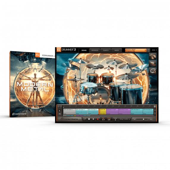 Toontrack EZX Modern Metal (Serial Download)