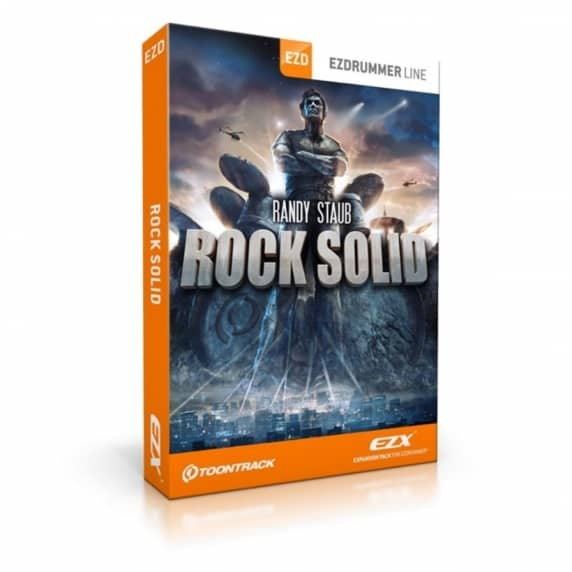 Toontrack EZX Randy Staub Rock Solid - EZdrummer 2 (Serial Download)
