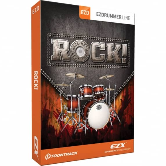 Toontrack EZX Rock EZ Drummer Expansion Pack (Serial Download)