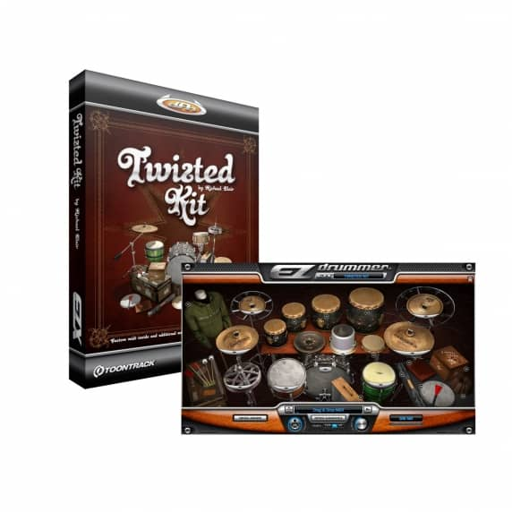 Toontrack EZX Twisted Kit - EZ Drummer Expansion (Serial Download)
