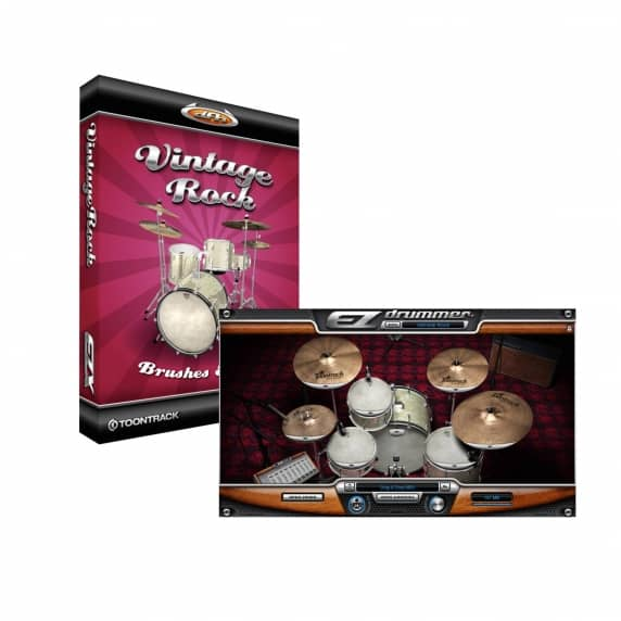 Toontrack EZX Vintage Rock - EZ Drummer Expansion (Serial Download)