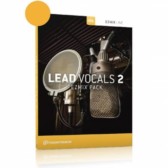 ToonTrack Lead Vocals 2 EZMix 2 Pack (Serial Download)