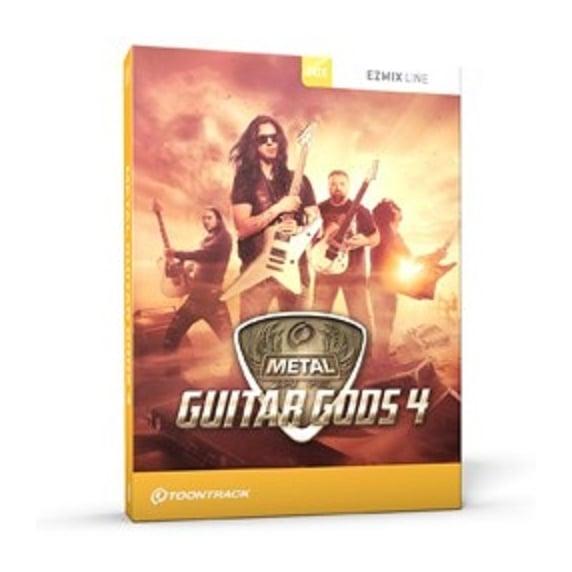 Toontrack Metal Guitar Gods 4 EZmix Pack (Serial Download)