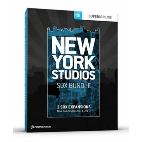 ToonTrack New York Studios SDX Bundle (Serial Download)