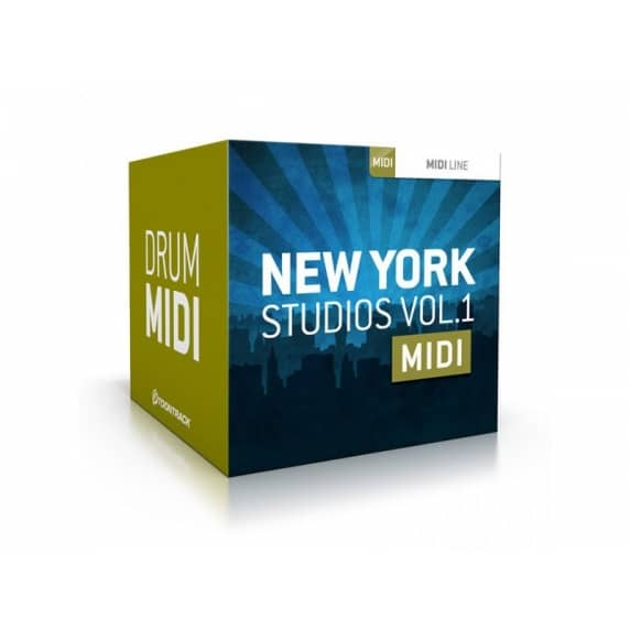 Toontrack New York Studios Vol 1 MIDI (Serial Download)
