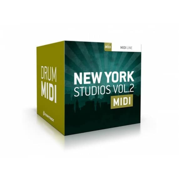 Toontrack New York Studios Vol 2 MIDI (Serial Download)