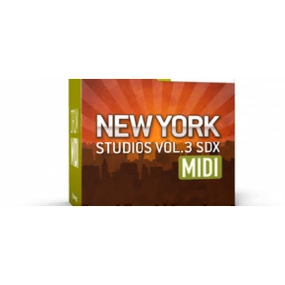 Toontrack New York Studios Vol 3 MIDI (Serial Download)
