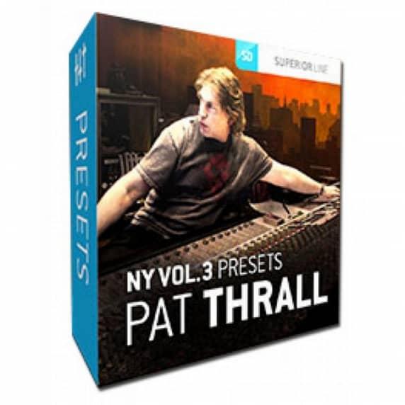 Toontrack NY Studios V3 Presets Pat Thrall (Serial Download)