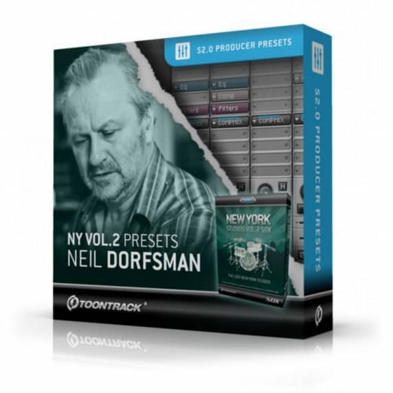 Toontrack NY Volume 2 Presets: Neil Dorfsman (Serial Download)