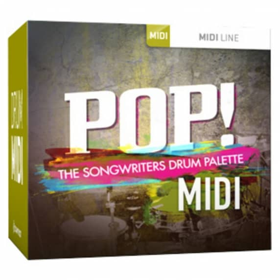 Toontrack Pop! MIDI (Serial Download)