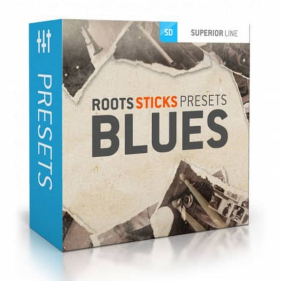 Toontrack Roots Sticks Presets - Blues (Serial Download)
