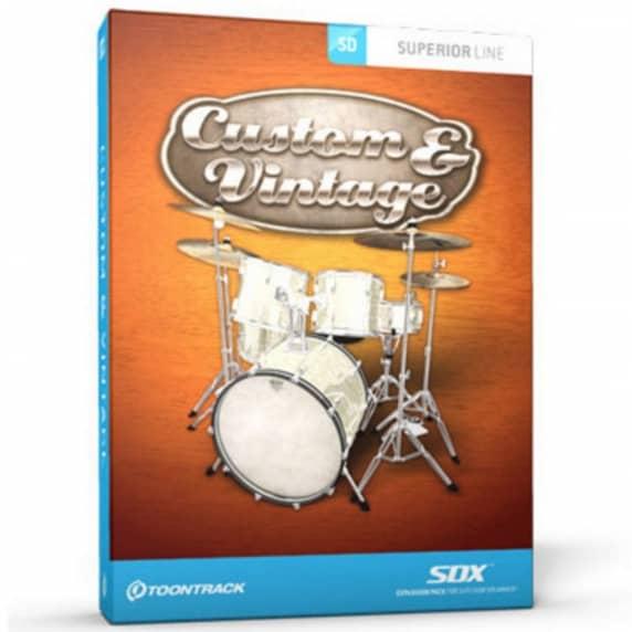 Toontrack SDX: Custom & Vintage UPGRADE (Serial Download)