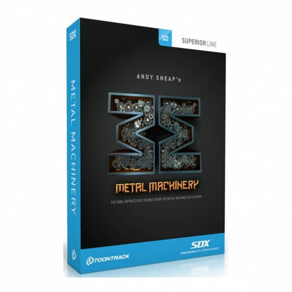 Toontrack SDX: Metal Machinery (Serial Download)