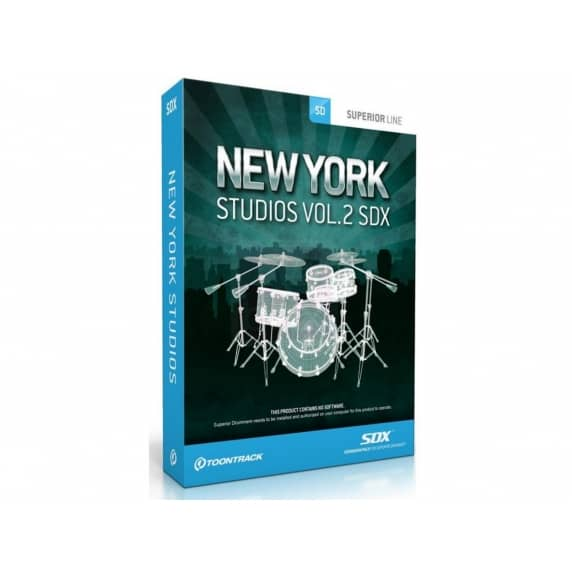 Toontrack SDX: New York Studios Vol 2 (Serial Download)