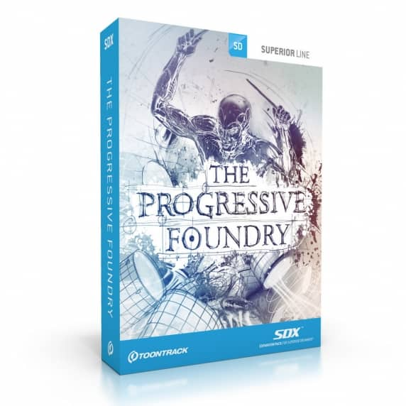 Toontrack SDX - Progressive Foundry EDUCATION (Serial Download)