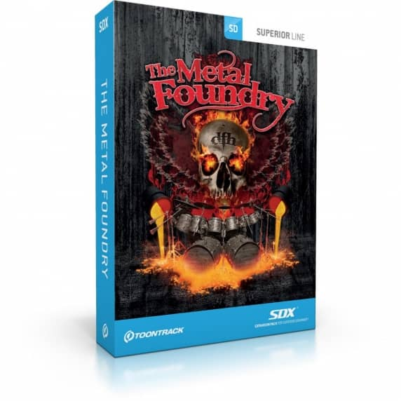 Toontrack SDX: The Metal Foundry (Serial Download)