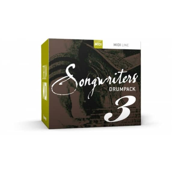 Toontrack Songwriters Drumpack 3 MIDI (Serial Download)