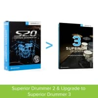 Toontrack Superior Drummer 2 and upgrade to SD3 (Serial Download)