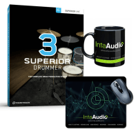 Toontrack Superior Drummer 3 (Serial Download) & Inta Audio Mug / Mousemat
