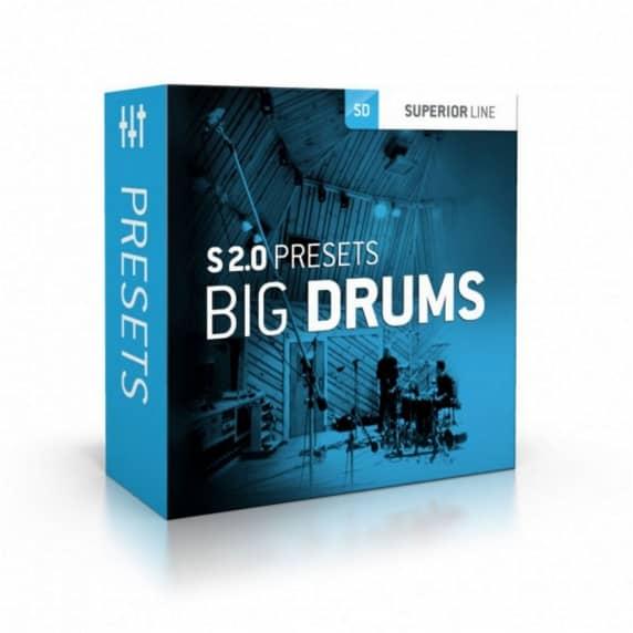 Toontrack Superior Drummer Presets: Big Drums (Serial Download)
