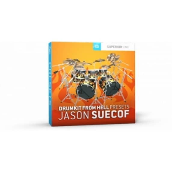 Toontrack Superior Drummer Presets: DFH Jason Suecof (Serial Download)