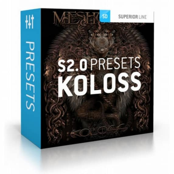 Toontrack Superior Drummer Presets: Koloss (Serial Download)