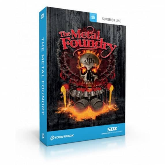 Toontrack Superior Drummer Presets: Metal Foundry (Serial Download)
