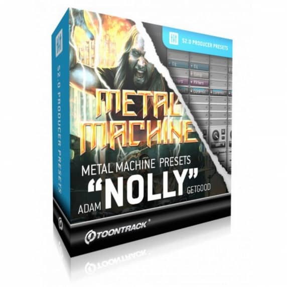Toontrack Superior Drummer Presets: Metal Machine Nolly (Serial Download)