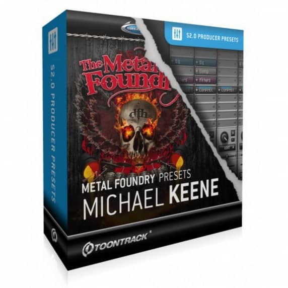 Toontrack Superior Presets: Metal Foundry Michael Keene (Serial Download)