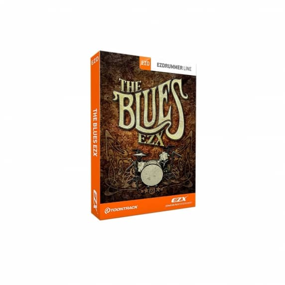 Toontrack The Blues EZX - Virtual Drum Software (Serial Download)