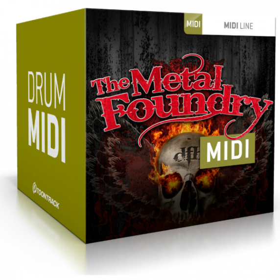 Toontrack The Metal Foundry MIDI (Serial Download)
