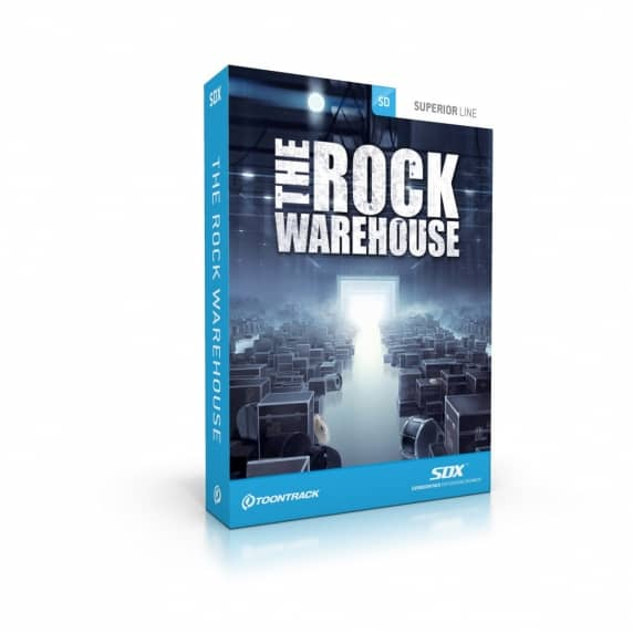 Toontrack: The Rock Warehouse (Serial Download)