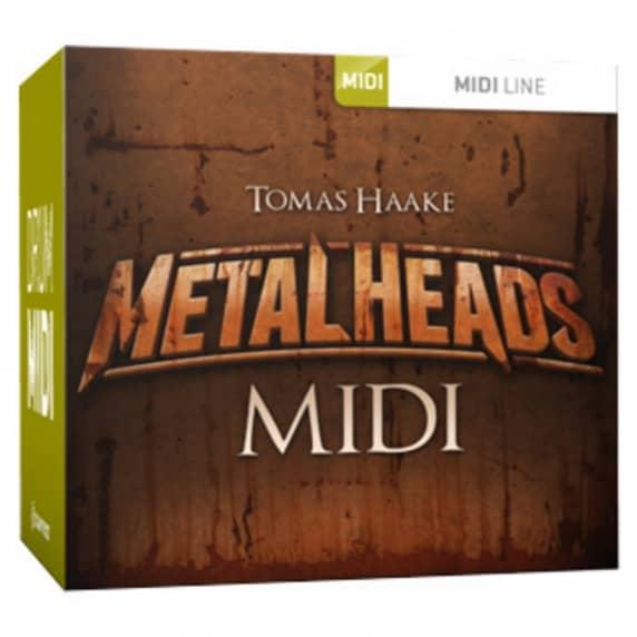 Toontrack Tomas Haake Metalheads MIDI (Serial Download)
