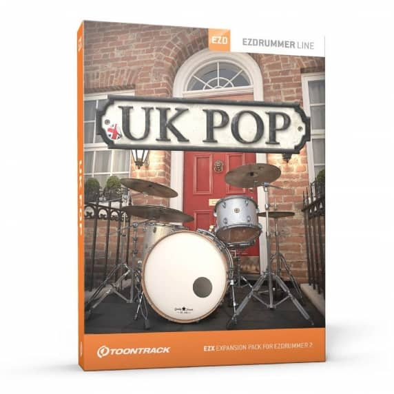 ToonTrack UK Pop EZX - EZ Drummer Expansion (Serial Download)