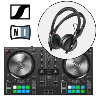 Native Instruments Traktor Kontrol S2 MK3 & Sennheiser HD25 DJ Headphones Bundle