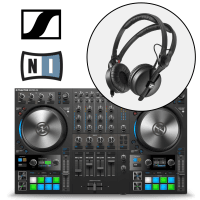 Native Instruments Traktor Kontrol S4 MK3 & Sennheiser HD25 DJ Headphones Bundle