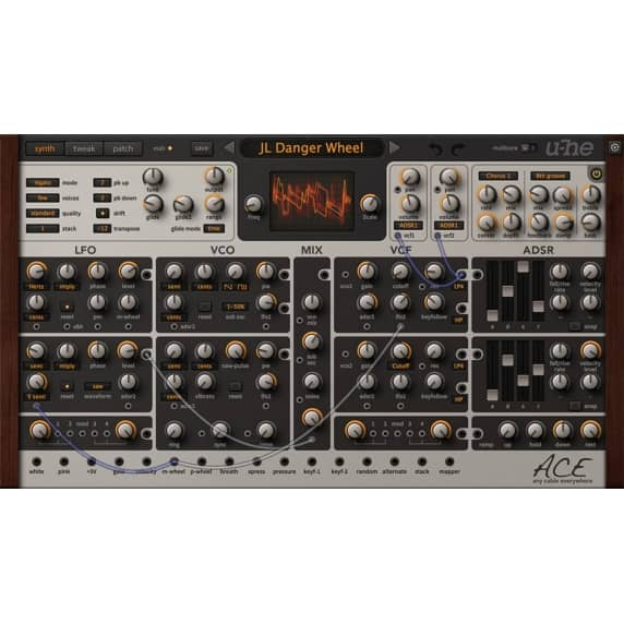 u-he Ace - Easy-to-use Modular Synth (Serial Download)
