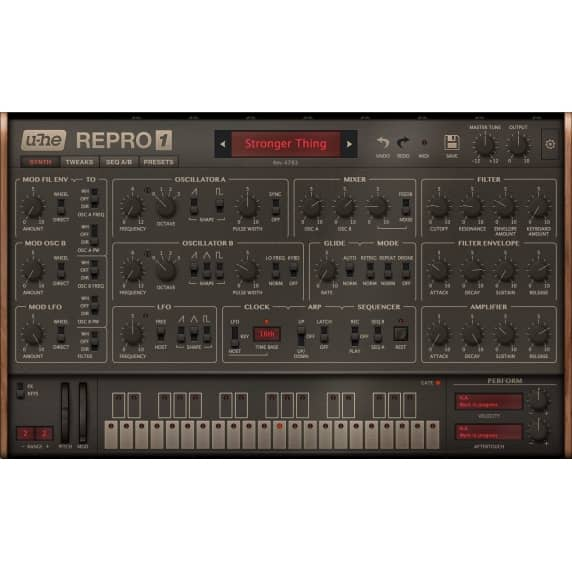 u-he Repro - Classic Analogue Synth (Serial Download)