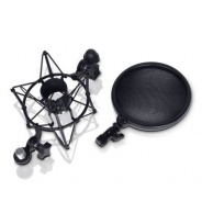 Universal Microphone Shock mount with built in Pop shield (DSM400 / LD Systems)