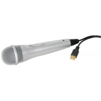 AV Link USB Microphone - Hand Held Switchable Vocal Mic for PC or Mac