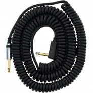 Vox Guitar/Bass Black Coil Cable - 9m