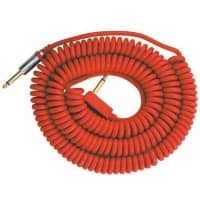 Vox Guitar/Bass Red Coil Cable - 9m