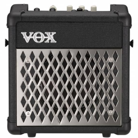Vox Mini5 Rhythm Modeling Guitar Combo Amplifier - Black Finish