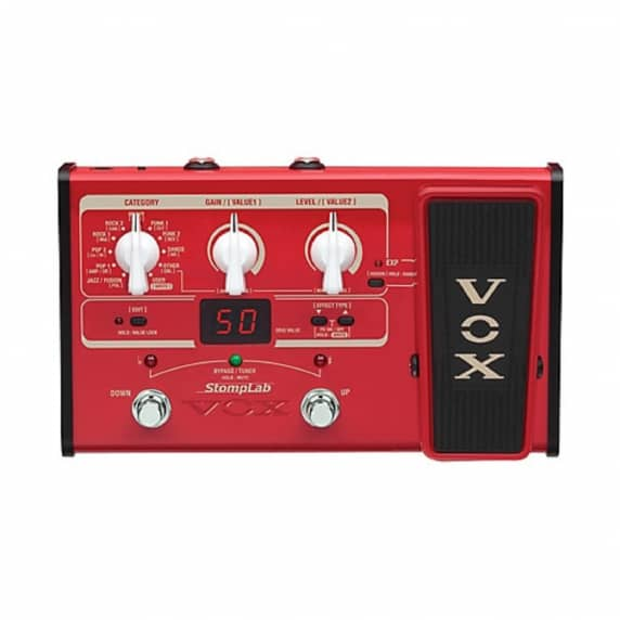 Vox StompLab IIB Bass Modelling Pedal