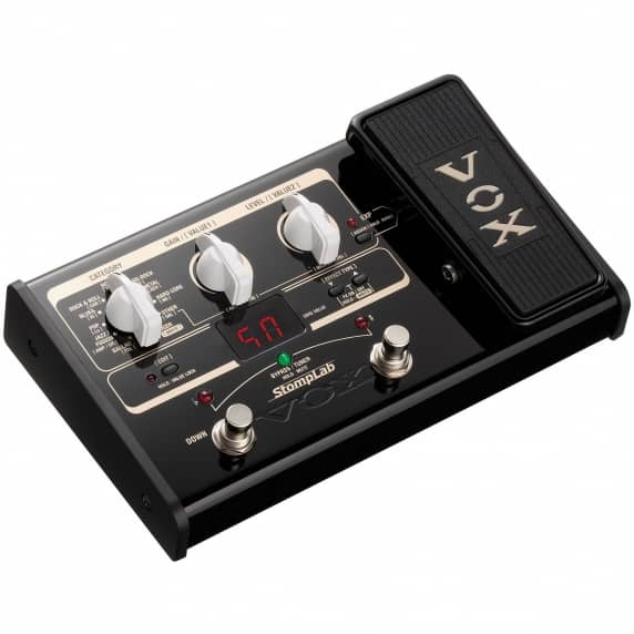 Vox StompLab IIG Guitar Multi-Effects with Expression Pedal - B-STOCK